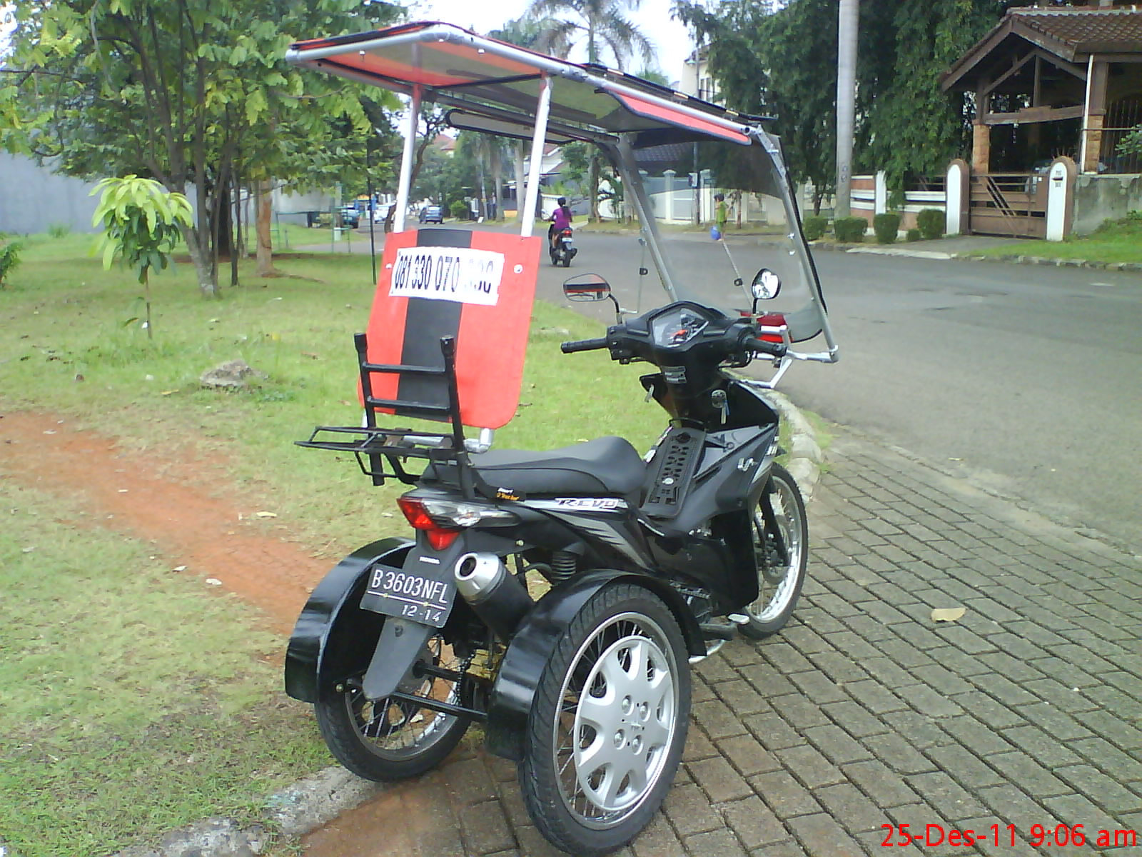 86 Tanya Modifikasi Motor Matic Roda 3 Terbaru Dan Terkeren