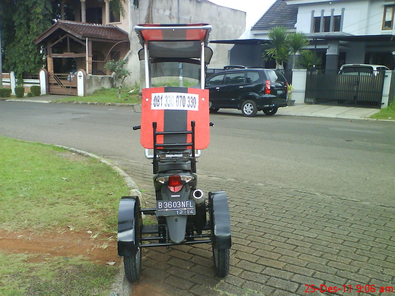 Motor Tiga Roda